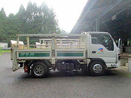 トラック側面before