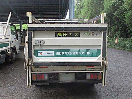 トラック後面after